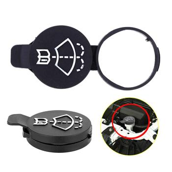 1/2Pcs Windshield Wiper Washer Fluid Reservoir Tank Cap for Multi Car Model Chevrolet Buick Black