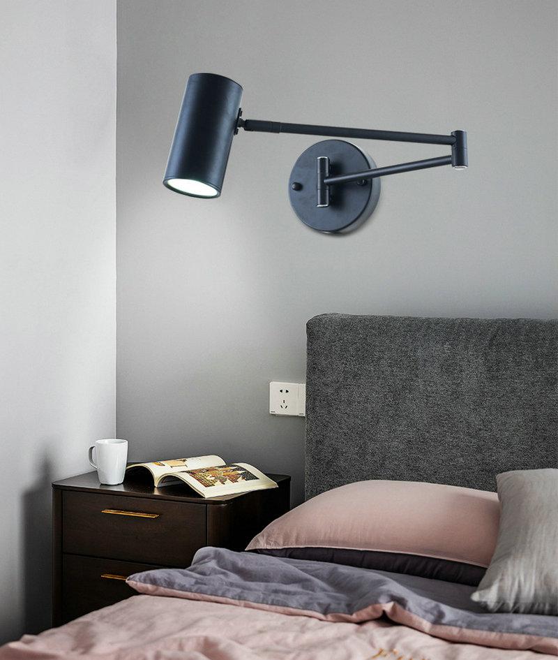 Luminária de parede, estilo moderno, minimalista e