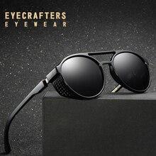 EYECRATFERS 2019 NEW Polarized Sunglasses Gothic Steampunk Sunglasses