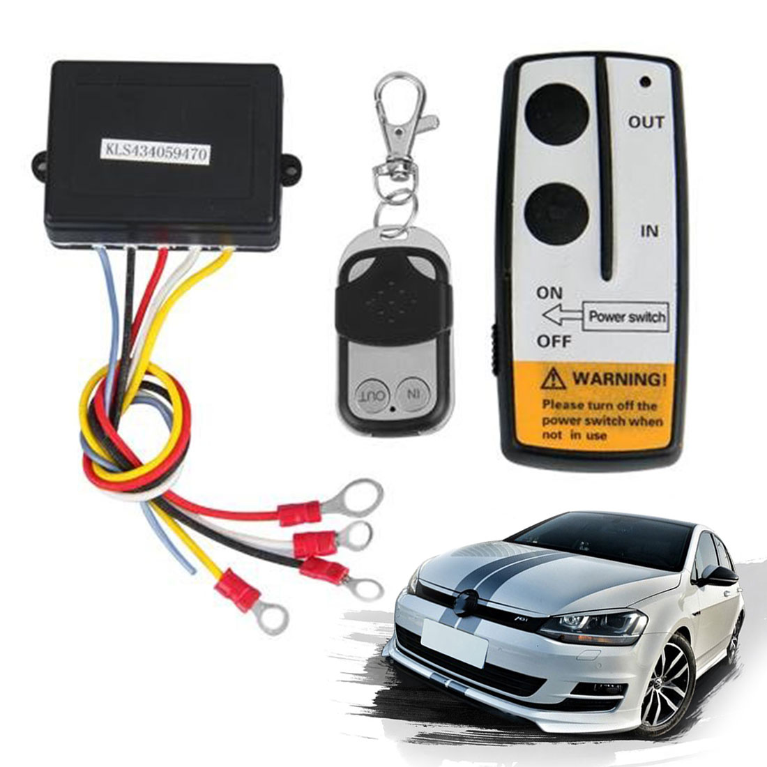Cabrestante inalámbrico Universal Kit de Control remoto 12V 50 pies 2 mandos a distancia con indicador de luz Detector de coche para camión Jeep ATV SUV Cargador USB para coche de carga rápida 3,0 4,0 Universal 18W carga rápida en coche 3 puertos cargador de teléfono móvil para samsung s10 iphone 11 7