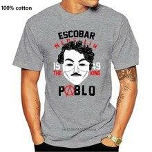 2020 mode Offre Spéciale Pablo Escobar T-shirt V POUR Vendetta Masque Faux Inspiré Cadeau Design Haut Pour Femme T-shirt