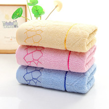 Хлопковое полотенце в клетку, мягкое и удобное, не выцветает, хорошо впитывает воду, подарок, возврат,, полотенца для лица