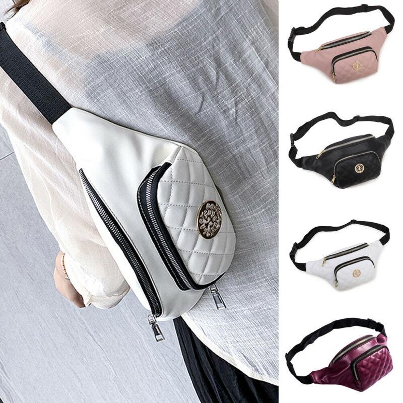 New Men Women Chest Pouch Bag Fanny Pack Waist Wallet Sports Zipped Shoulder Bag