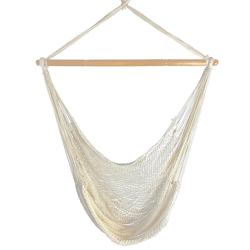 Портативный гамак стул настенный повесить веревка для качелей для садовых и комнатных растений детское кресло - Цвет: B