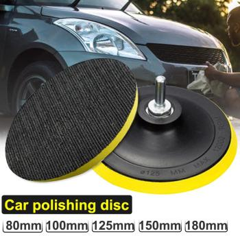 M14 Car Auto Polisher Buffing Sanding Angle Grinder Hook Loop Backing Pad Discs 2020 image