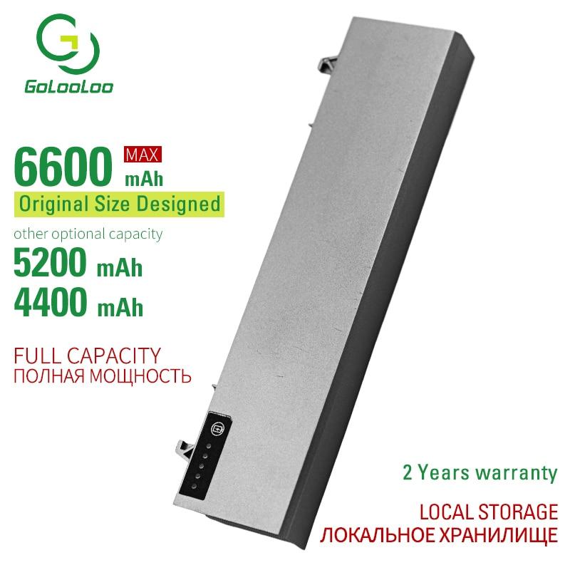 Аккумулятор Golooloo для ноутбука Dell Latitude E6500, E6510, M2400, 312-0748, 312-0754, 312-0917, 451-10583, C719R, KY477, PT434, U844G, 6 ячеек