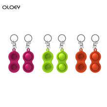 Key-Chain Hand-Toys Anti-Stres-Stress Dimple Sports Stochastically