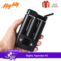 2019 latest Mighty dry herb Vaporizer Kit uses full hot air convection heating System 3000mAh Portable electronic cigarette Kit