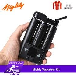 2019 ultime Mighty erba secca Kit Vaporizzatore utilizza pieno di aria calda riscaldamento a convezione Sistema di 3000mAh Portatile Kit di sigaretta elettronica