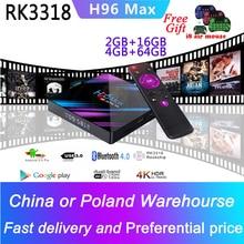 H96 MAX Smart TV Box Android 9.0 4K Spain Portugal Arabic Ne