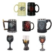Игра престолов кофейные кружки чашки для чая и кружки креативный знак огонь и кровь