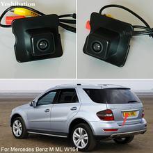 Vista traseira câmera reversa para mb mercedes benz m ml w164 câmera traseira do carro reverso câmera de backup hd ccd visão noturna + alta qualidade