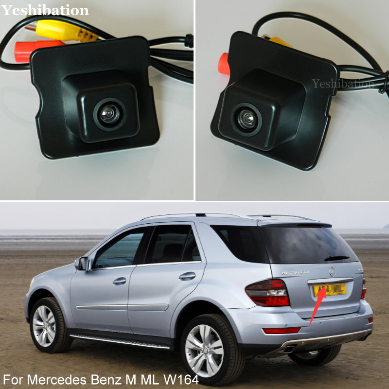 Rear View Reverse Camera For MB Mercedes Benz M ML W164 Reverse Car Camera Rear Backup Camera HD CCD Night Vision + High Quality