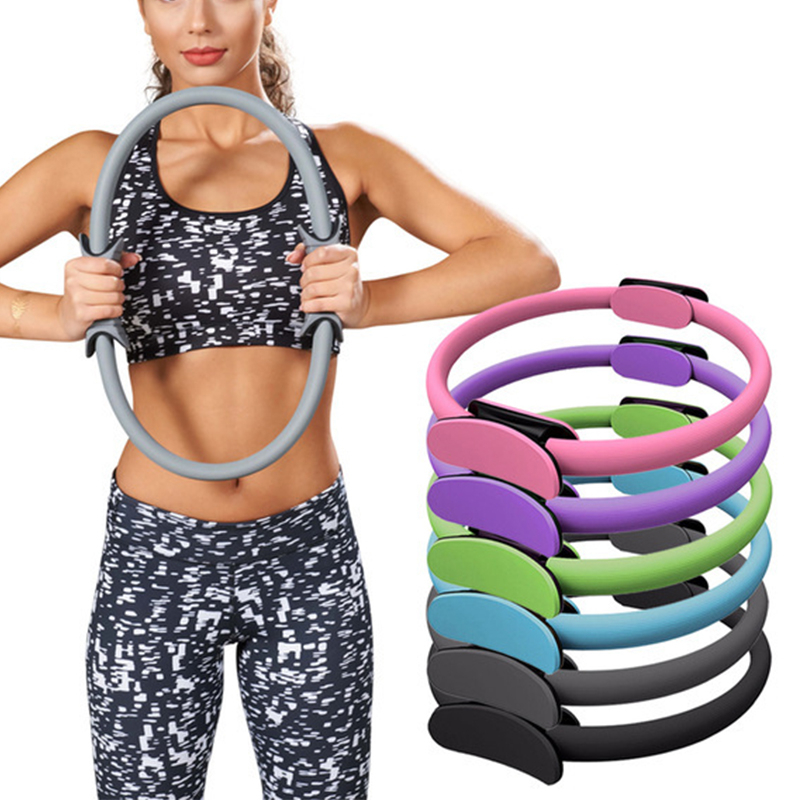 Professional Yoga Circle Pilates Magic Ring Kinetic Resistance Women Fitness Body Building Hoop Gym Workout Pilates Accessories