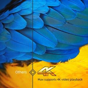 Image 2 - جهاز عرض رقمي صغير محمول مزود بخاصية WIFI للفيديو مزود بتقنية البلوتوث من byintk R19 عالي الوضوح بالكامل 1080P 2K ثلاثي الأبعاد 4K مقاس 300 بوصة بنظام تشغيل أندرويد للسينما