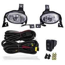 Car Headlight Fog Lights Assembly For Honda CRV 2011 2010 12V 4300K 55W Accessories Plating Lamp Cover Replacement