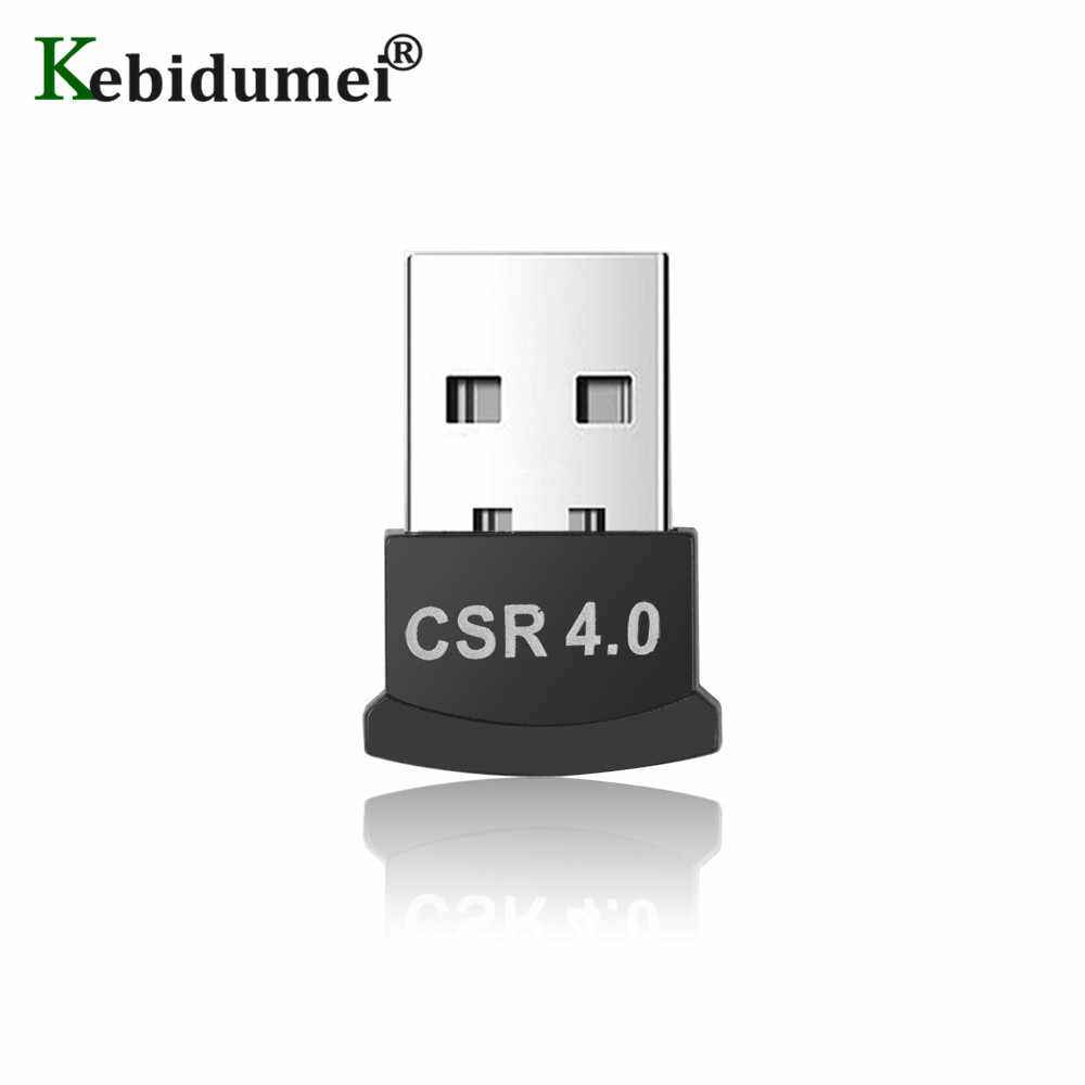 Kebidumei Mini Bluetooth CSR 4.0 Adapter Music Sound Transmitter Receiver Adapter USB Bluetooth Dongle Adapter For PC Computer