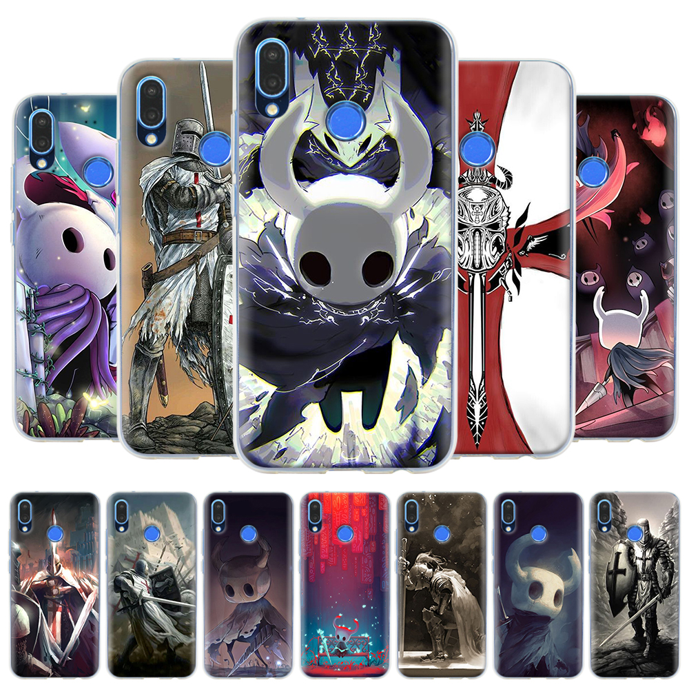 Templar Hollow Knight <font><b>Silicone</b></font> <font><b>Case</b></font> For <font><b>Honor</b></font> <font><b>10</b></font> 20 Lite 8X 9X Pro 8C 8S 20S Play 3e Huawei Y5 Y6 Y7 Y9 2019 Soft Cover image