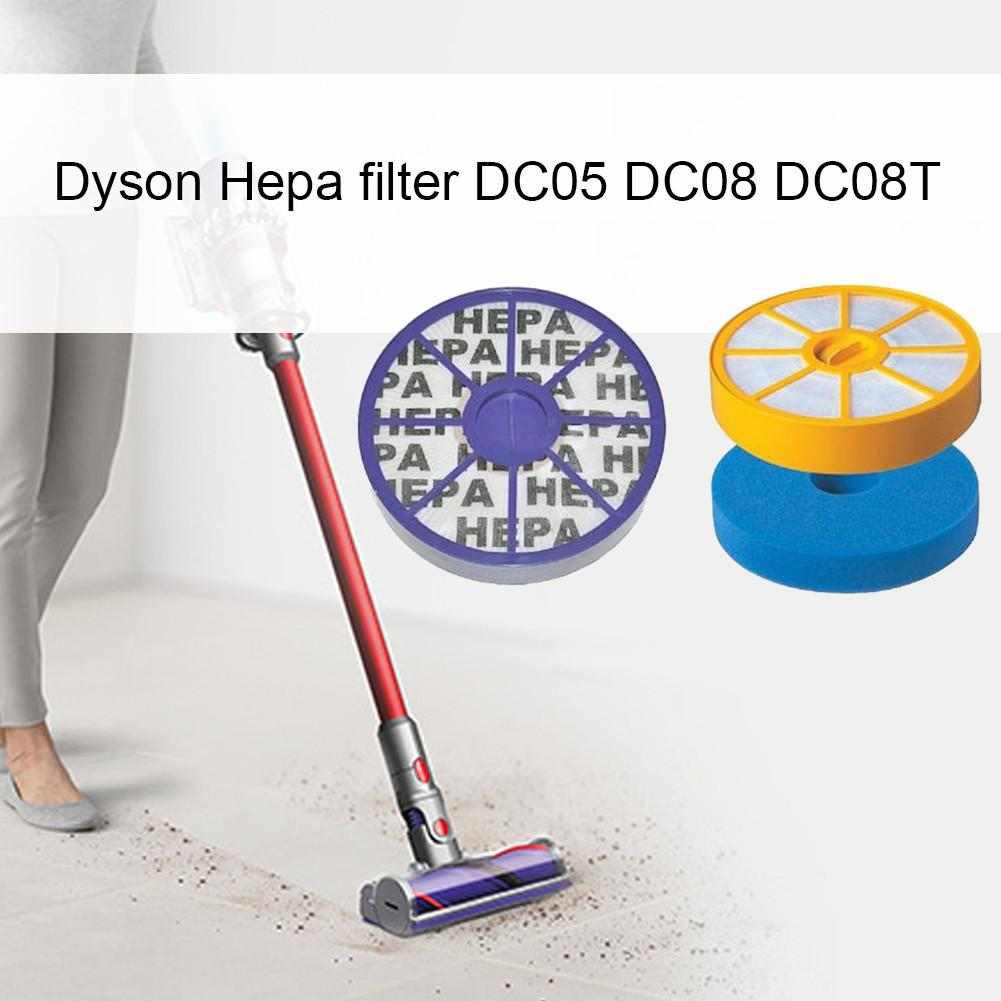 1 X HEPA Filter Dyson DC05 DC08 DC08T DC08TW Setting - HEPA Filter Set For Dyson Two-piece Filter