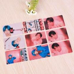 9 шт./компл. kpop Bangtan boys прозрачная Фотокарта карта soul persona альбом высокое качество фото карта Bangtan boys один kpop