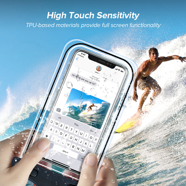 INIU IP68 Universal Waterproof Phone Case Water Proof Bag Mobile Cover For iPhone 12 11 Pro Max 8 7 POCO x3 Xiaomi Redmi Samsung 3