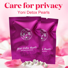 цена 10pcs Medical Vagina Tampons Yoni Pearl Woman Vaginal Detox Tampon Beautiful Life Feminine Hygiene Health Care онлайн в 2017 году