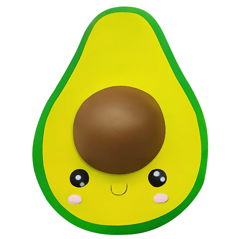 Jumbo Avocado Squishy Cute Slow Rising Soft Squeeze Toy Simulation Sweet Scented Stress Relief For Kid Baby Xmas Gift Toy10*13CM