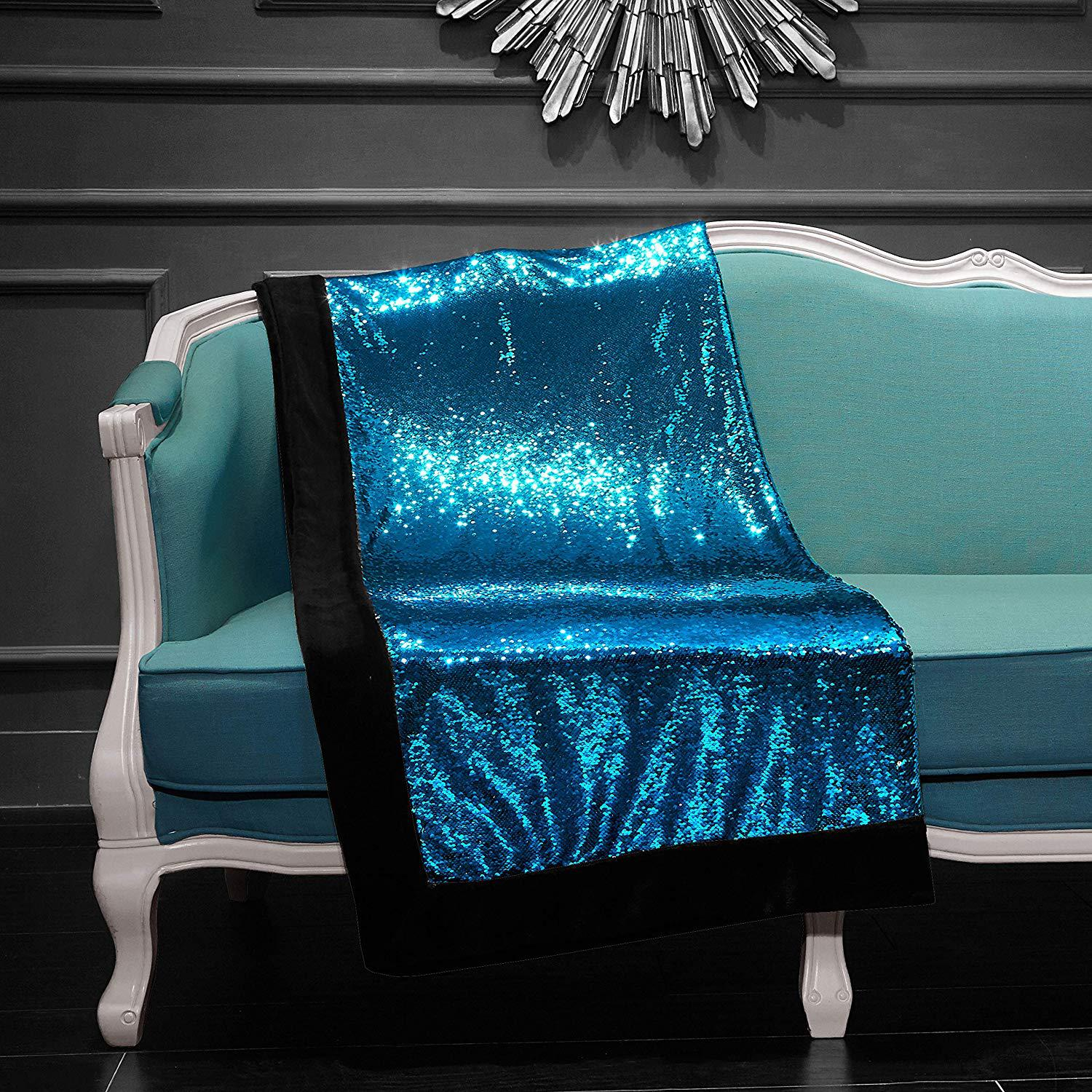 DIY Sequin Sofa Cover Wish Hot Selling Home sha jin Pad Table Cloth Tapestry Sofa Cover Customizable