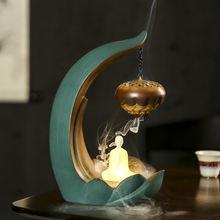 Ароматическая горелка с водопадом подставка для курильницы со