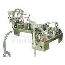 Pneumatic double nozzle liquids piston filler,soft beverage filling machine,food juice water bottling,packing equipment 1000ml, horizontal one nozzle piston liquid filling machine liquid filler for milk oil juice perfume 100 1000ml