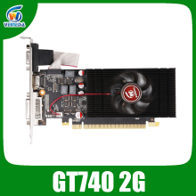 Veineda Originele GT740 Gpu Videokaart 2G GDDR5 128Bit Grafische Vga Game Card 1059/5000Mhz Voor Nvidia geforce Games