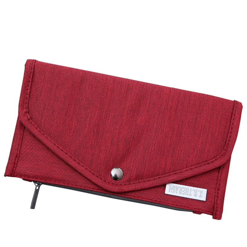 New Passport Travel Wallet Passport Holder Multi-Function Credit Card Package Id Document Multi-Card Storage Pack Clutch Red