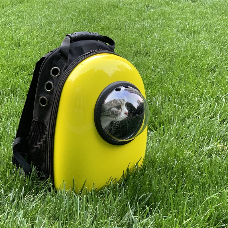 Cat Cages Transparent Space Capsule Shoulder Bag Pet Outside Travel Portable Carry Backpack Pet Backpack Eco Friendly Plastic in Dog Carriers from Home Garden