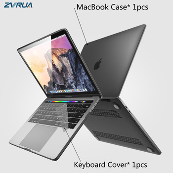 New laptop Case For APPle MacBook Air Pro Retina 11 12 13 15 16 mac Book 15.4 13.3 inch with Touch Bar ID Sleeve+ Keyboard Cover
