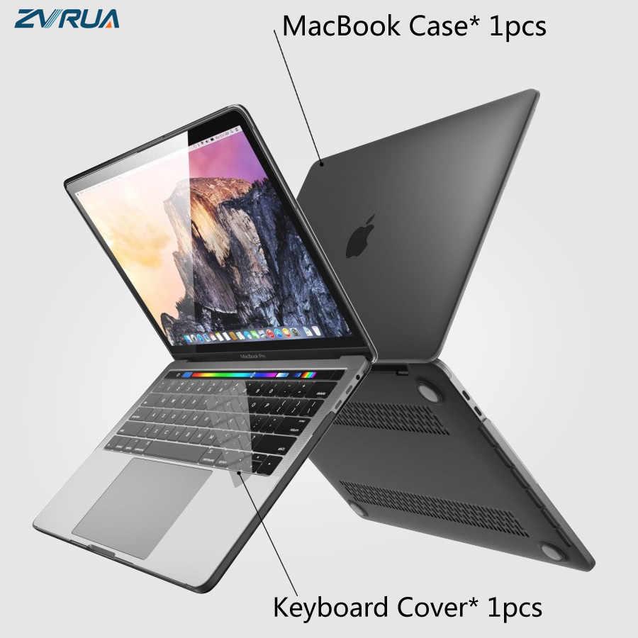 Nieuwe Laptop Case Voor Apple Macbook Air Pro Retina 11 12 13 15 16 Mac Boek 15.4 13.3 Inch Met touch Bar Id Mouw + Toetsenbord Cover