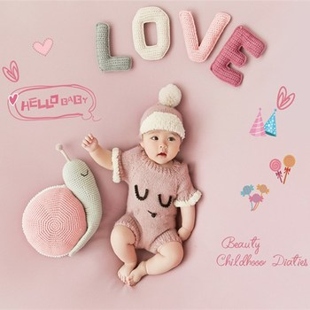 100-Day rekwizyty fotograficzne dla niemowląt fotografowania noworodków Prop dziecko sto dni rekwizyty fotograficzne Studio fotograficzne Handmade Accessori tanie i dobre opinie Unisex 2020081804 0-3 Months photography baby props photo props baby newborn photography prop baby accessori studio accessori