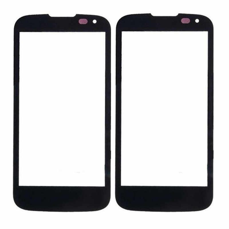 لمس الشاشة ل LG K3 K100 LS450 لمس لوحة 4.5 ''شاشة الكريستال السائل الزجاج الهاتف قطع الغيار استبدال