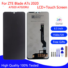 Original para zte lâmina a7s 2020 display lcd tela de toque a7020 a7020ru digitador assembléia para zte lâmina a7s 2020 tela lcd