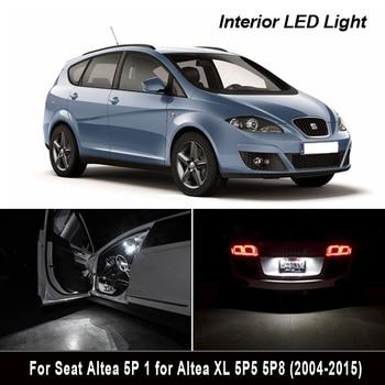 13X LED Interior mapa cúpula kit de luces para 2004-2015, asiento accesorios para Altea 5P 1 para Altea XL 5P5 5P8 para maletero o matrícula bombilla