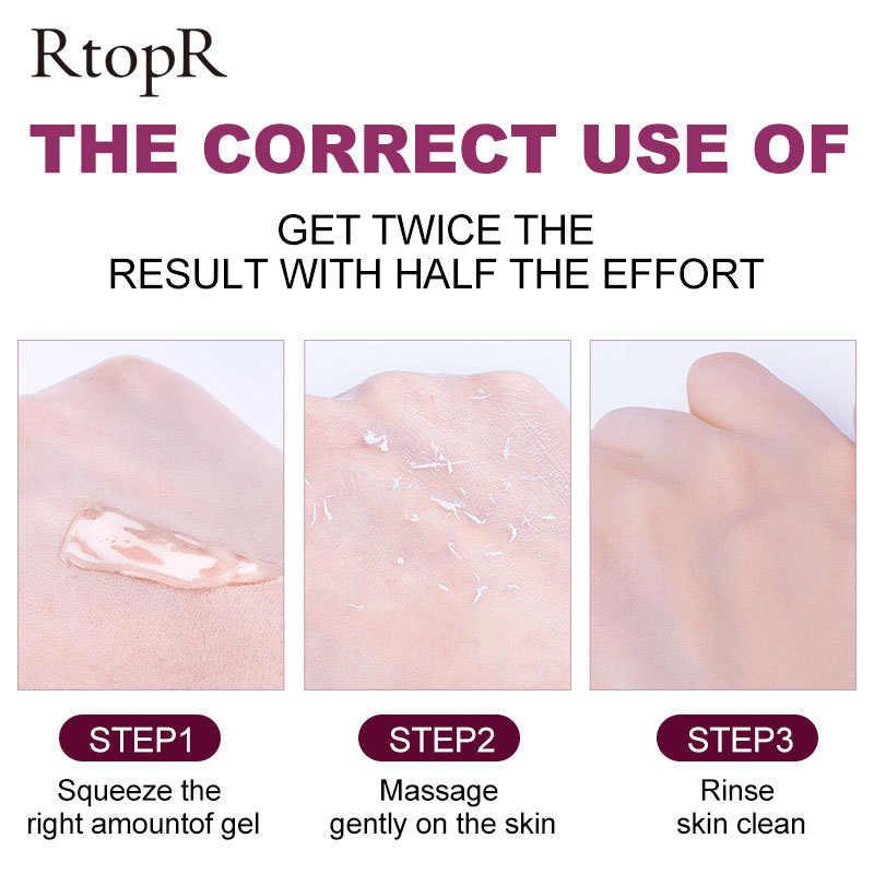 Hautpflege Gesicht Peeling-Creme Gesichts Peeling Reiniger Akne Mitesser Behandlung Entfernen Gesicht Creme Gesicht Produkte