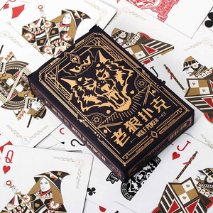 Image 5 - 샤오미 카드 놀이 포커 보드 게임 늑대 인간 죽이기 게임 카드 놀이 방수 카드 3 10 사람들 파티 수집 게임 카드