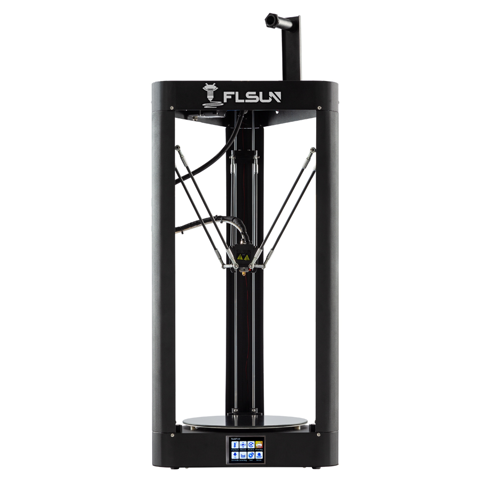 Impressora 3D Flsun QQ-S Delta Kossel Auto-Nível Atualizado Currículo Pré-montagem TFT 32bits placa de impressora 3d