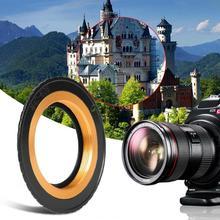 M42 EOS puce électronique 3 AF confirmer M42 Len à EOS caméra adaptateur anneau précision de mise au point électronique Flexible complet