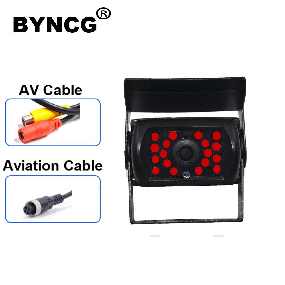 BYNCG DB18 IR LED Car Rear View Camera 9-36v Truck Bus Lorry Car Rear View Reversing IR Nightvision Car Rear View Camera