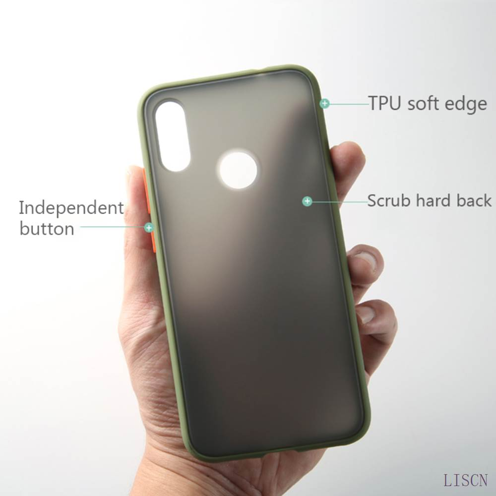 Shockproof Anti Knock PC Matte Bumper Phone Case With Independent Button For Xiaomi mi And Redmi 3
