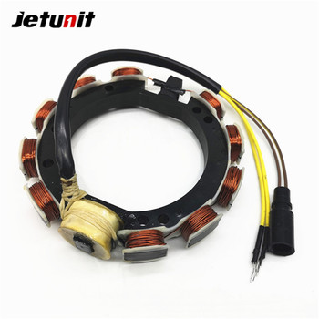 JETUNIT Outboard Parts Stator Assy 4Cyl 9Amp For Johnson Evinrude 65-115HP 583340 583536 763767 173-3536