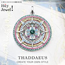Ciondolo amuleto magico, 2020 nuovissimo boemia gioielli di moda europa Bijoux argento Sterling 925 mitico regalo azteco per donna