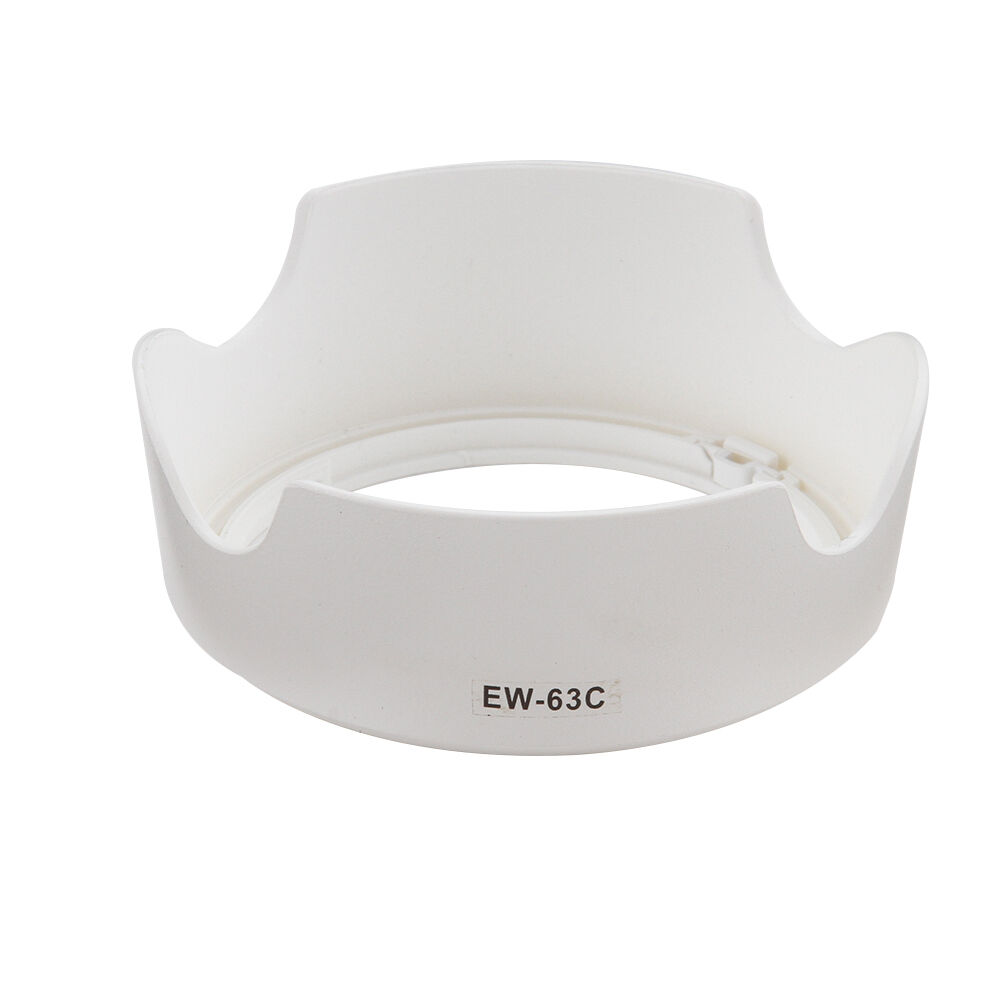 NEW White <font><b>EW</b></font>-<font><b>63C</b></font> ew63c camera lens hood accessories 58mm for Canon 700D 760D EF-S 18-55mm f/3.5-5.6 IS STM good quality Foleto image