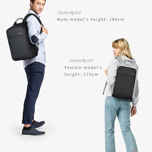 """Image 5 - 180° Patent Luggage Design Men Backpack Business Laptop Backpack Women Travel Bag 18"""" Expandable RFID Anti theft H6758"""