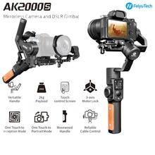 FeiyuTech AK2000S DSLR مثبت كاميرا فيديو يده Gimbal يصلح للكاميرا DSLR بدون مرآة 2.2 كجم الحمولة